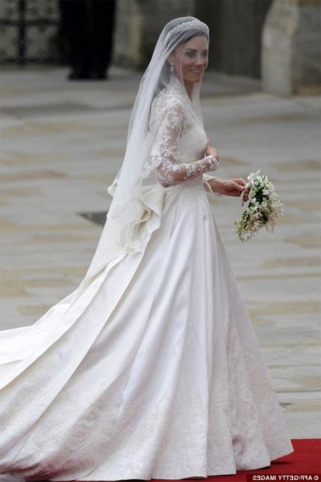 """Kate Middleton'un gelinligi"""