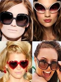 """""""2012 İlkbahar Yaz güneş gözlüğü modası"""""""