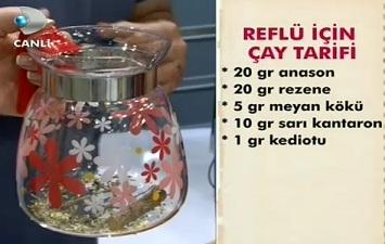 """""""Reflü için çay tarifi"""""""