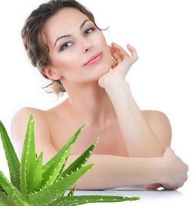 Aloe vera doğal anti-aging maskesi