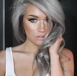 Doğal Gümüş Rengi Saç boyası Yapımı