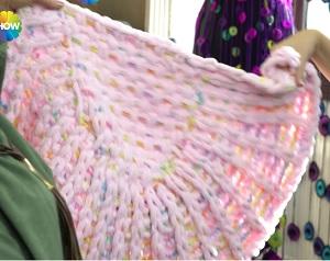 Hazır İlmekli İplikle Puset Battaniye Yapımı Tülin İriş