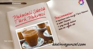 Kakuleli Sütlü Türk Kahvesi