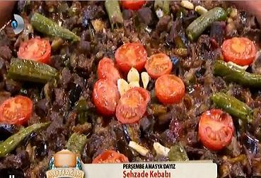 Şehzade kebabı Mutfağım