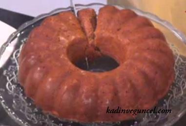 Şişmanlatmayan Pekmezli elmalı kek