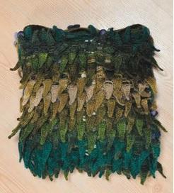 Tülin İriş yastık battaniye modeli